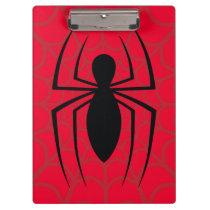 Spider-Man Skinny Spider Logo Clipboard
