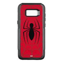 Spider-Man Skinny Spider Logo OtterBox Commuter Samsung Galaxy S8+ Case