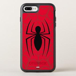 Spider-Man Skinny Spider Logo OtterBox Symmetry iPhone 8 Plus/7 Plus Case