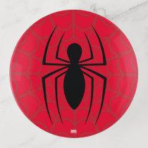 Spider-Man Skinny Spider Logo Trinket Tray