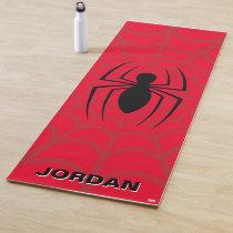 Spider-Man Skinny Spider Logo Yoga Mat
