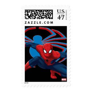 Spider-Man & Spider Character Art Postage