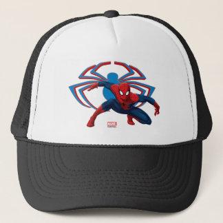 Spider-Man & Spider Character Art Trucker Hat