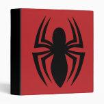 Spider-Man Spider Logo 3 Ring Binder