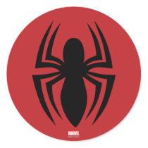 Spider-Man Spider Logo Classic Round Sticker