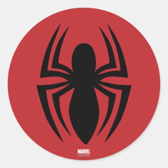 spider man spider logo classic round sticker zazzle com spiderman face clip art free spiderman face clipart black and white