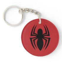 Spider-Man Spider Logo Keychain