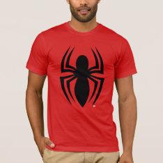 Spider-Man Spider Logo T-Shirt at Zazzle