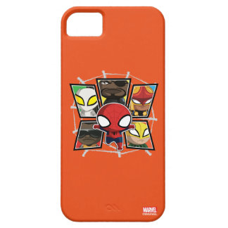 Spider-Man Team Heroes Mini Group iPhone SE/5/5s Case