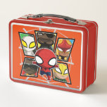 Spider-Man Team Heroes Mini Group Metal Lunch Box