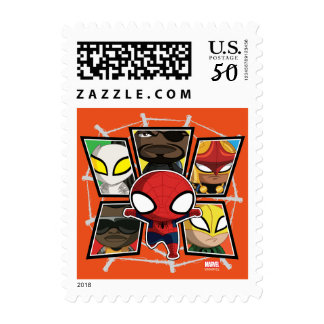 Spider-Man Team Heroes Mini Group Postage