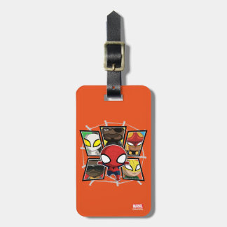 Spider-Man Team Heroes Mini Group Tag For Luggage