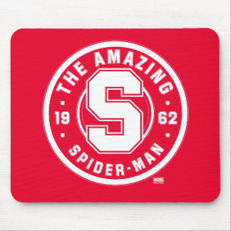 Spider-Man | The Amazing Spider-Man Retro Badge Mouse Pad