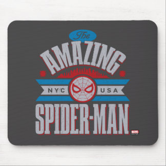 Spider-Man | The Amazing Spider-Man Retro Type Mouse Pad