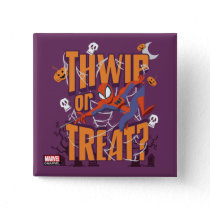 "Spider-Man ""Thwip or Treat?"" Button"
