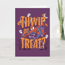 "Spider-Man ""Thwip or Treat?"" Card"