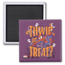 "Spider-Man ""Thwip or Treat?"" Magnet"