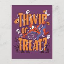 "Spider-Man ""Thwip or Treat?"" Postcard"