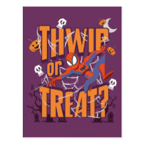 "Spider-Man ""Thwip or Treat?"" Postcard"