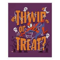 "Spider-Man ""Thwip or Treat?"" Poster"