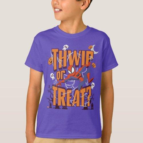 Spider_Man Thwip or Treat T_Shirt