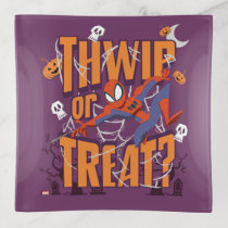 "Spider-Man ""Thwip or Treat?"" Trinket Trays"
