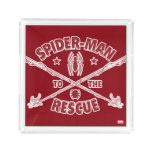 Spider-Man To The Rescue Acrylic Tray