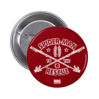 Spider-Man To The Rescue Button