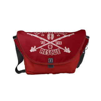 Spider-Man To The Rescue Small Messenger Bag