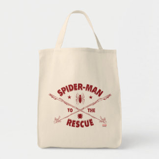 Spider-Man To The Rescue Tote Bag