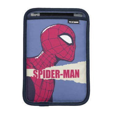 Spider-Man Torn Page Name Graphic iPad Mini Sleeve