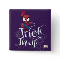"Spider-Man ""Trick or Thwip"" Button"