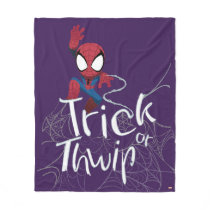 "Spider-Man ""Trick or Thwip"" Fleece Blanket"