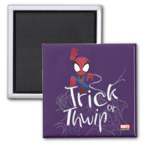 "Spider-Man ""Trick or Thwip"" Magnet"