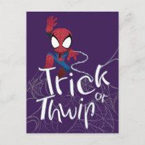 "Spider-Man ""Trick or Thwip"" Postcard"