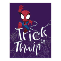 "Spider-Man ""Trick or Thwip"" Postcard"