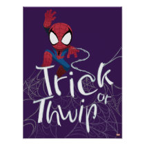 "Spider-Man ""Trick or Thwip"" Poster"