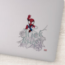 "Spider-Man ""Trick or Thwip"" Sticker"