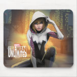 Spider-Man Unlimited - Spider-Gwen On Rooftop Mouse Pad
