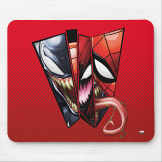 Spider-Man | Venom, Carnage, & Spider-Man Cutout Mouse Pad