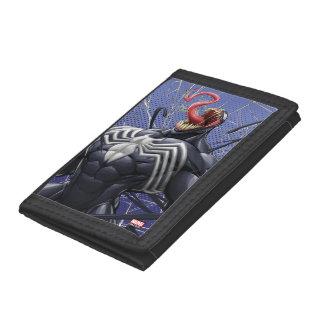 Spider-Man   Venom Symbiote Lashing Out Trifold Wallet