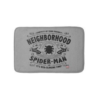Spider-Man Victorian Trademark Bathroom Mat