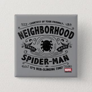 Spider-Man Victorian Trademark Pinback Button