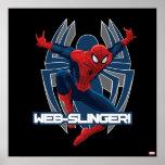 Spider-Man Web-Slinger Graphic Poster