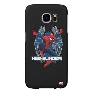 Spider-Man Web-Slinger Graphic Samsung Galaxy S6 Case