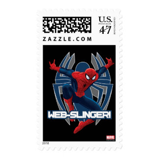 Spider-Man Web-Slinger Graphic Stamp