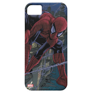 Spider-Man Web Slinging From Daily Bugle iPhone SE/5/5s Case