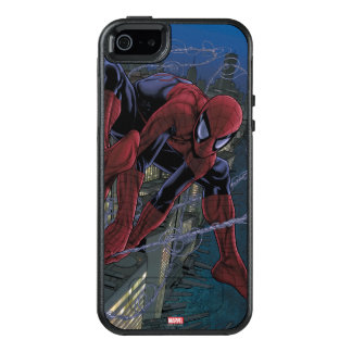 Spider-Man Web Slinging From Daily Bugle OtterBox iPhone 5/5s/SE Case