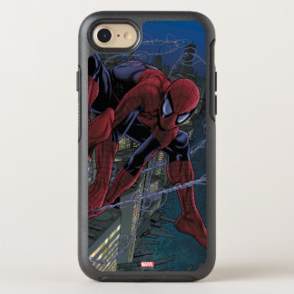 Spider-Man Web Slinging From Daily Bugle OtterBox Symmetry iPhone 7 Case