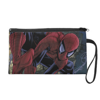 Spider-Man Web Slinging From Daily Bugle Wristlet